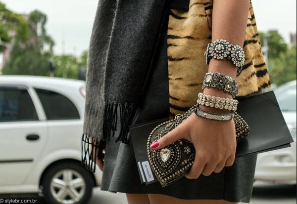 sao paolo street style bracelets