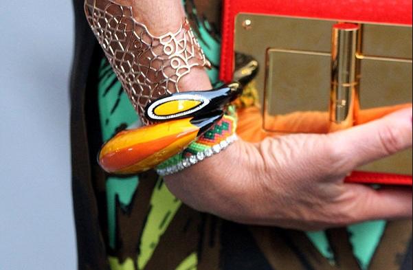 new york street style bracelets