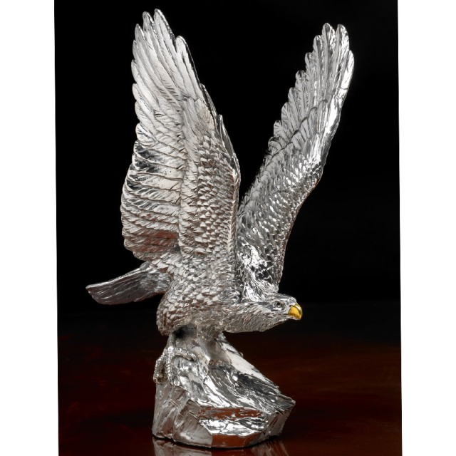 sterling silver eagle scully
