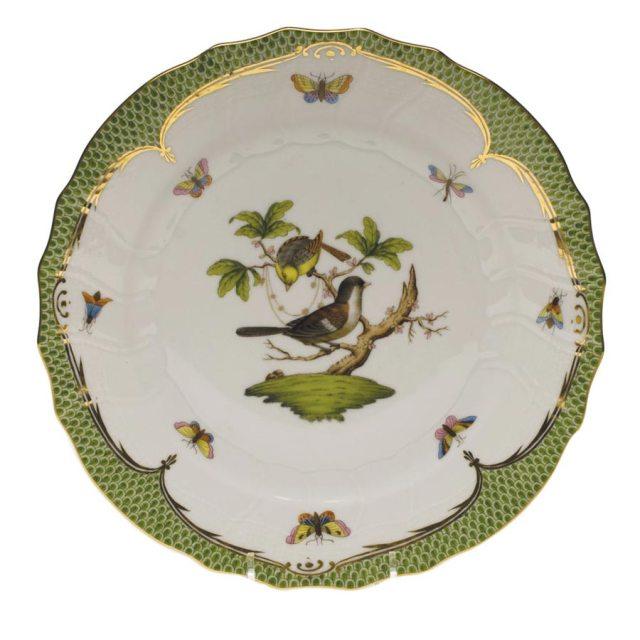 herend rothschild bird pattern