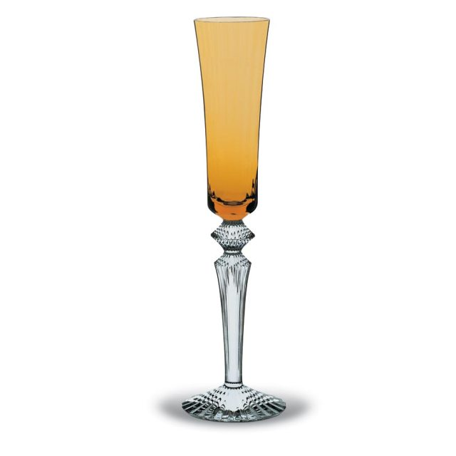 baccarat mille nuits flute amber