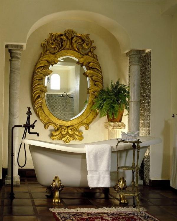 decorative mirrors bathroom