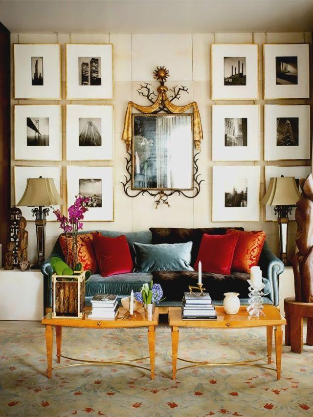 decorative living room mirrors