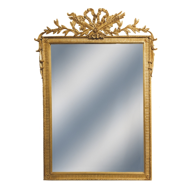 gold mirror wedding registry ideas