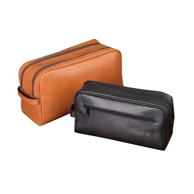 italian leather small washing travel bag scully and scully