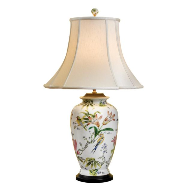 porcelain vase lamp wedding registry ideas
