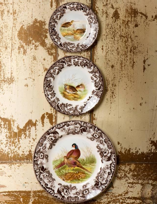 spode woodland plates