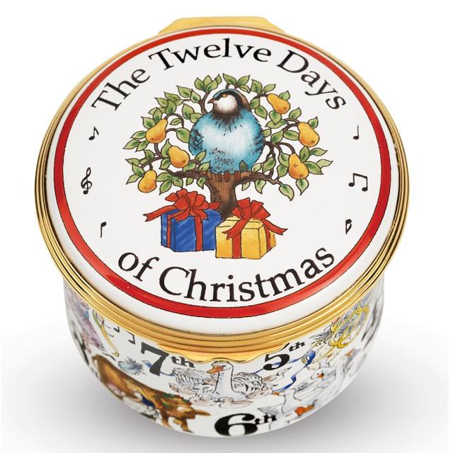 Halycon Days Twelve Days of Christmas Box