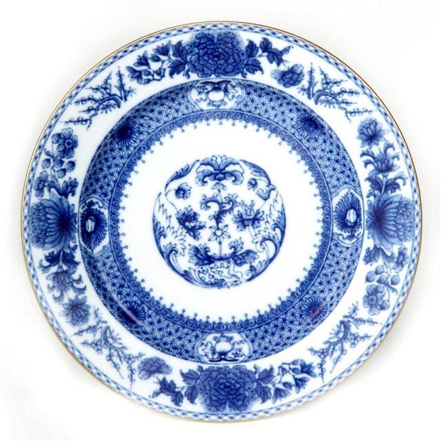 mottahedah imperial blue china