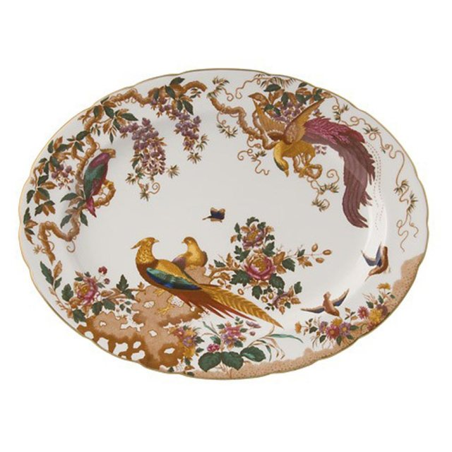 Royal Crown Derby Olde Avesbury Large Platter