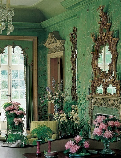 pantone emerald green home decor