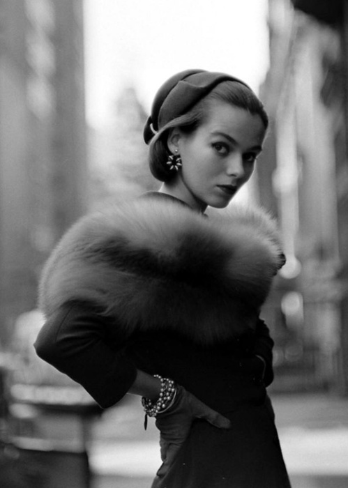 vintage fashion black and white