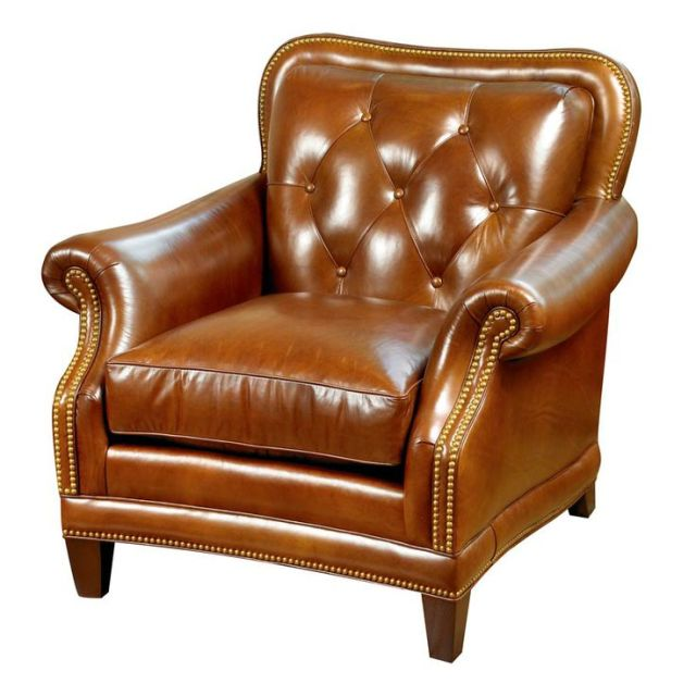 westminster chair leather library scully