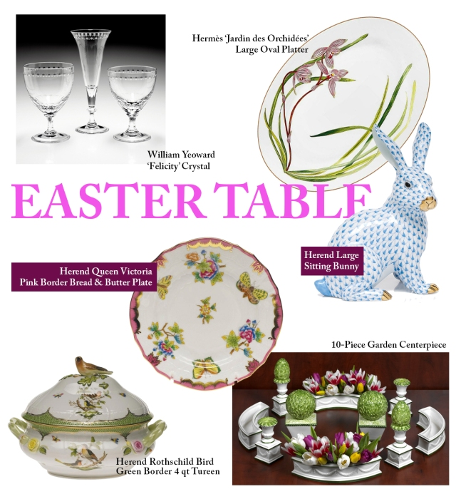 Easter Table china scully & scully