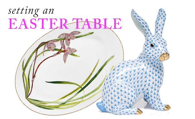 easter table scully & scully