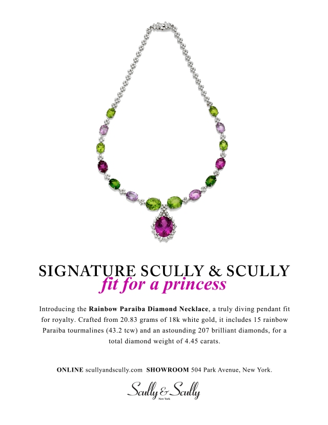 signature scully & scully jewelry diamond necklace