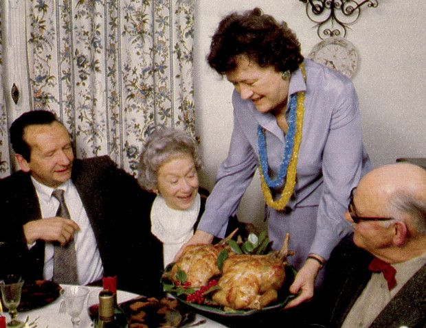 Julia Child thanksgiving turkey
