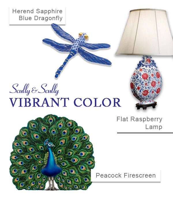 vibrant color spring home accessories