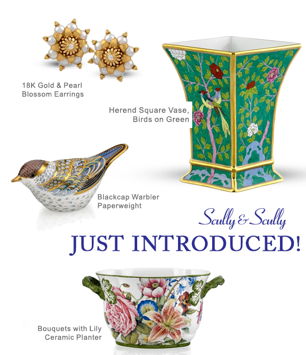 new herend fine jewelry home decor at scully & scully