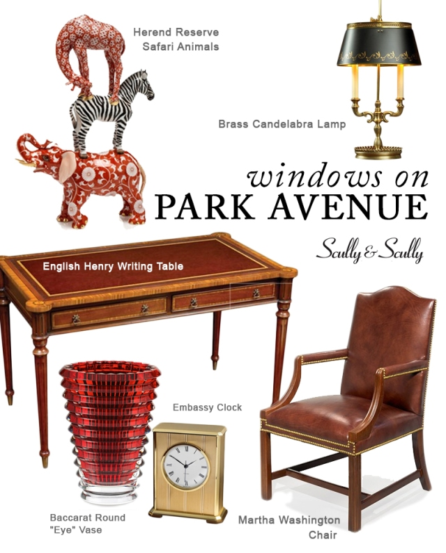 scully and scully office accessories furniture traditional decor nyc luxury shopping